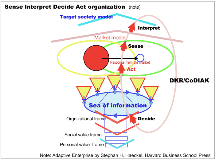 Sense Interpret Decide Act organization